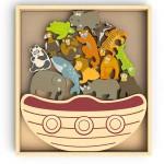 Balance Boat - Endangered Animals Game