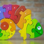Counting Chameleon Bilingual Puzzle