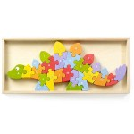 DInosaur A to Z Puzzle & Playset