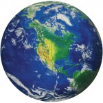 Earth Shaped Jigsaw Puzzle