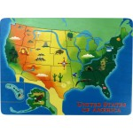Lift & Learn U.S. Map Puzzle