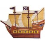 Pirate Ship Shaped Jigsaw Puzzle