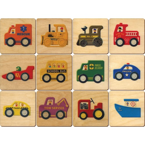 Vehicles Memory Tiles