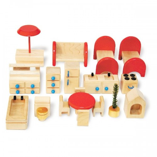 Family Doll House Furniture Set
