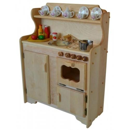 Abbie's Kitchen Deluxe in Light Hardwood