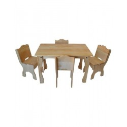 Downeast Cottage Table and Chair Deluxe Set