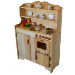 Sylvie's Kitchen Deluxe in Light Hardwood