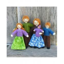 Dollhouse Family - Red Hair