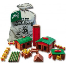 250 Piece Deluxe Farm Building