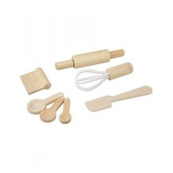 Plan Toys Natural Baking Utensils Set