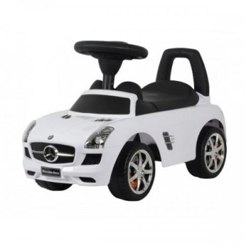 Benz Push Car White