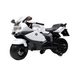 BMW Ride On Motorcycle 12V- White