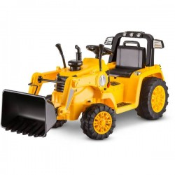 Kid Ride on Tractor 12V - Yellow