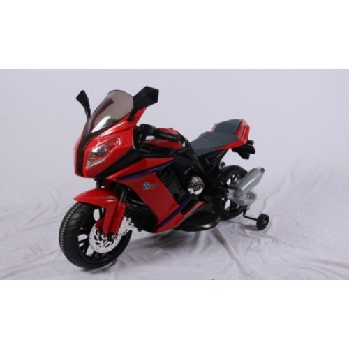 Ride on Sports Motorcycle 12V Red