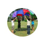 Parachute Toy 8 Holding Handles & 8 Balls Included