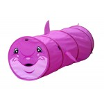 Dolphin 6 Feet Long Play Tunnel for Pets & Kids