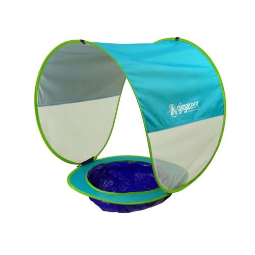Gigatent Pop-up Baby Beach Tent Sun Mini Pool & Detachable Shade