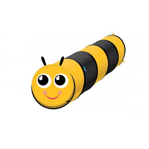 Pop Up 6 Feet long Bee Play Tunnel For Pets & Kids