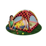 Lady Bug Ball Pit Playhouse 12 Colorful Plastic Balls Included