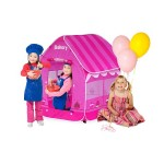 Pink Pop Up Bakery Play Tent With Pop Up Service Window