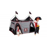 Pirate Hide-away Play Tent 2 Look-out Towers & a Center Base