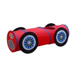 Pop Up Car 6 Feet Long Play Tunnel for Pets & Kids