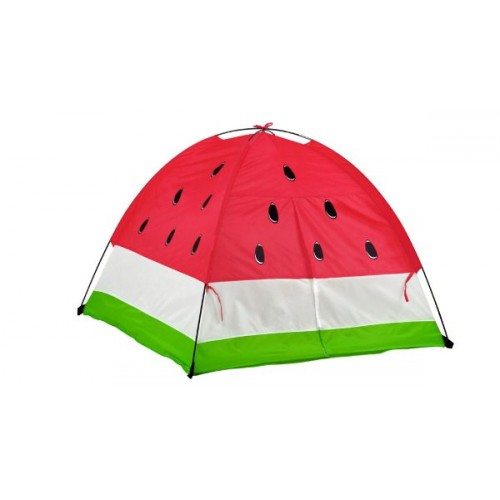 Watermelon Dome Play Tent With Curtain Doors & Carrying Case