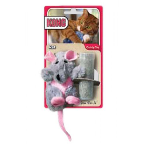 Kong® Refillable Catnip Toy - Rat
