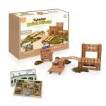 Tabletop Notch Blocks - Eastern 132 pc. set