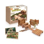 Tabletop Notch Blocks - Western 85 pc. set