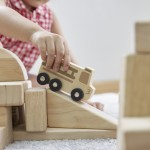 Mini Wooden Trucks Set of 10
