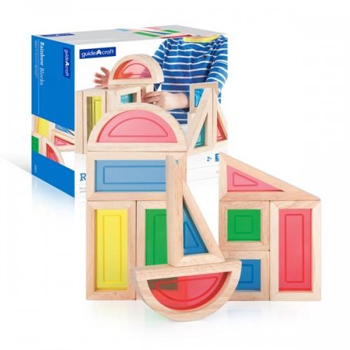 Rainbow Blocks - 10 pc. set