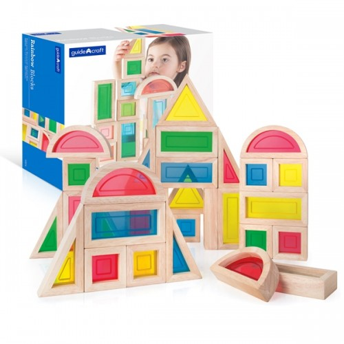 Rainbow Blocks - 30 pc. set
