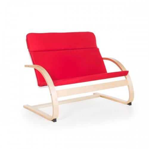 Nordic Couch - Red