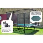 Pro 10ft x16ft Rectangular High-End Jumpking Trampoline