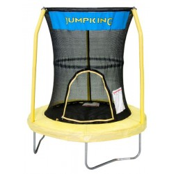 """55"""" Trampoline With 3 Poles Enclosure System (Yellow)"""