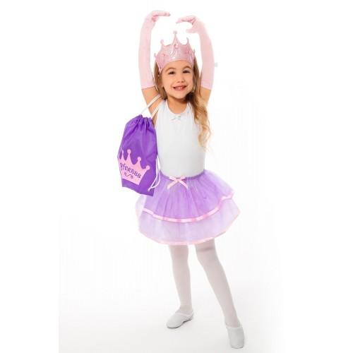 Little Adventure Drawstring Backpack Princess Gift Set
