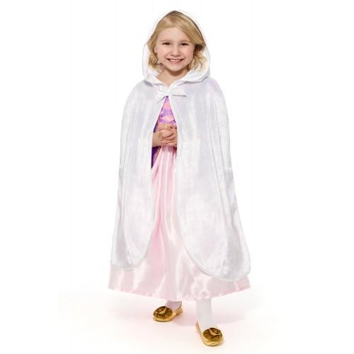 Little Adventures Child Cloak White