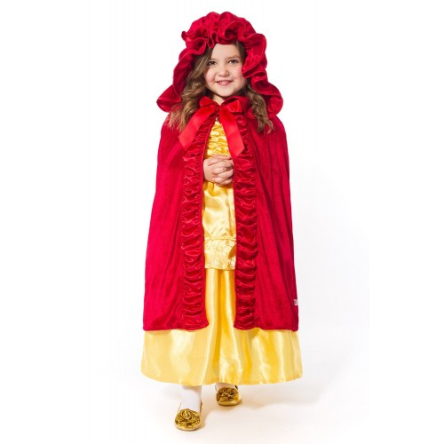 Little Adventures Cloak Red Deluxe