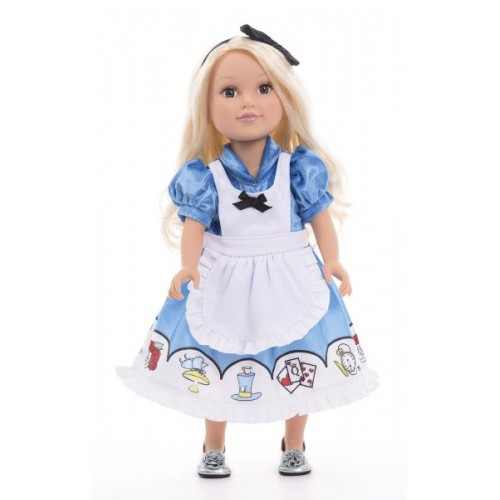 Little Adventure Doll Dress Alice with Headband