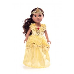 Little Adventure Doll Dress Classic Yellow Beauty
