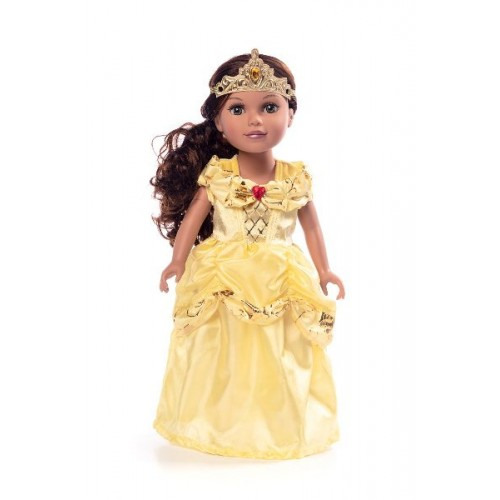 Little Adventure Doll Dress Classic Yellow Beauty