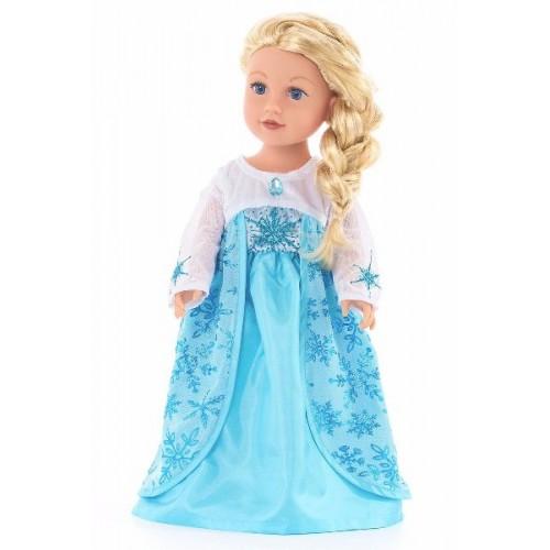 Little Adventure Doll Dress Ice Princess