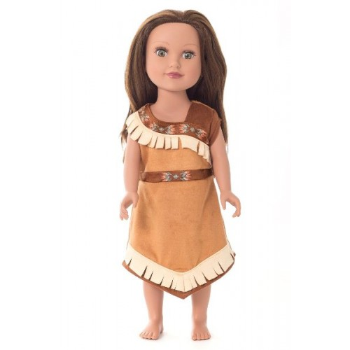 Little Adventure Doll Dress Native American