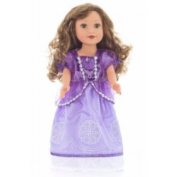 Little Adventure Doll Dress Purple Amulet Princess