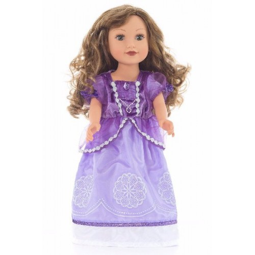 Little Adventure Doll Dress Purple Amulet Princess