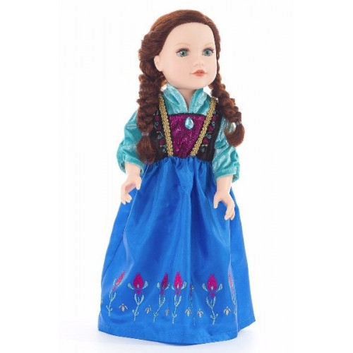 Little Adventure Doll Dress Alpine Princess