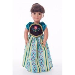 Little Adventure Doll Dress Scandinavian Princess Coronation