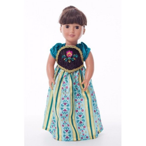 Little Adventure Doll Dress Alpine Princess Coronation