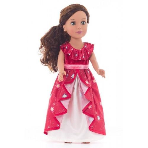 Little Adventure Doll Dress Ruby Princess